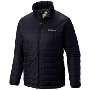 Columbia Omni Heat Men's Insulated Black Coat
